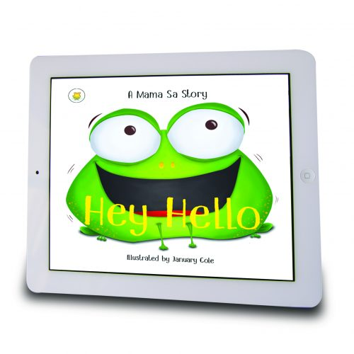 hey hello in ipad