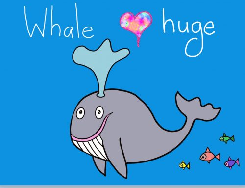 Cover image of drawing Whale huge eBook