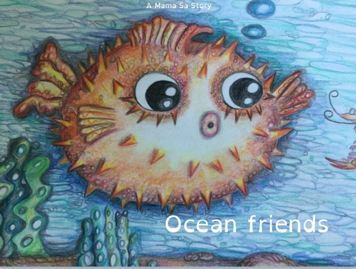 Cover of eBook ocean friends