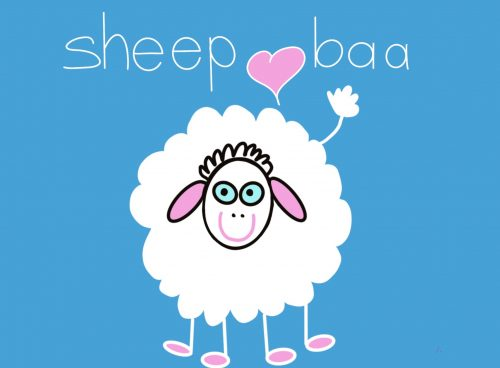 Cover image of Sheep baa drawing eBook
