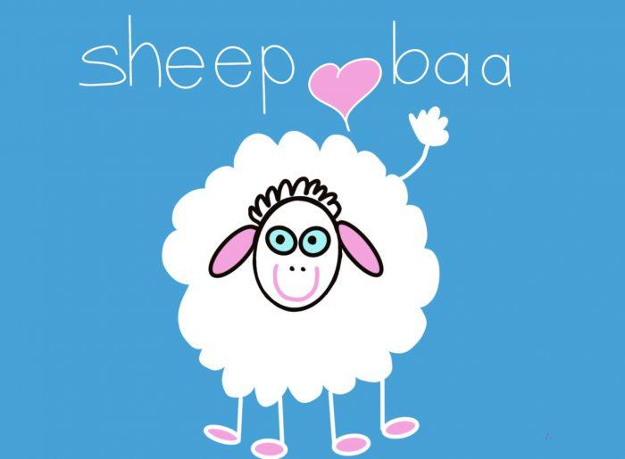 Cover image of Sheep baa drawing eBook