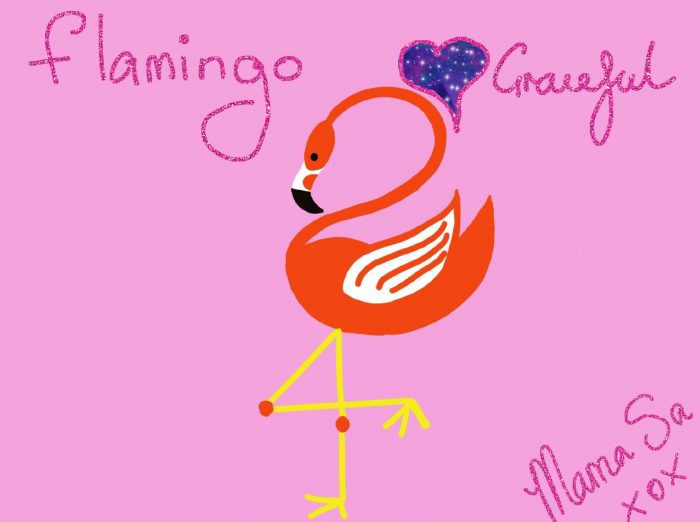 Cover image of Flamingo drawing eBook