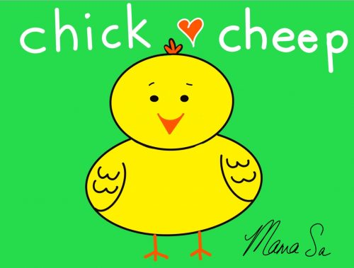 Cover image of Chick cheep drawing eBook