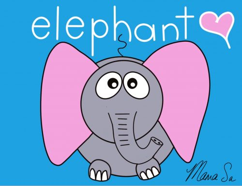 Cover image of Elephant drawing eBook