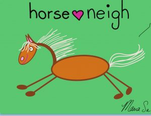 Cover of horse neigh book