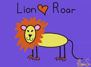 Cover lion roar book