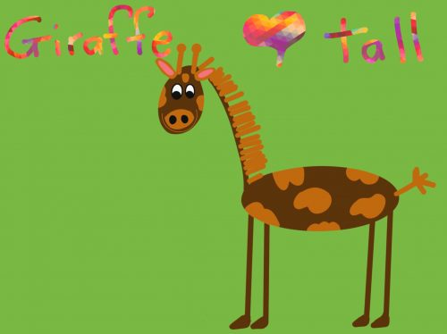 Cover of eBook Giraffe tall